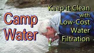 Camp Water: Low-cost Water Filtration