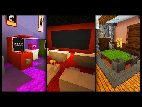 Minecraft - Games Room Designs & Ideas
