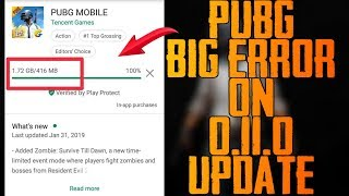0110 Pubg Update 100 Million People Download At A Time  Google Play Store Completely Crashed