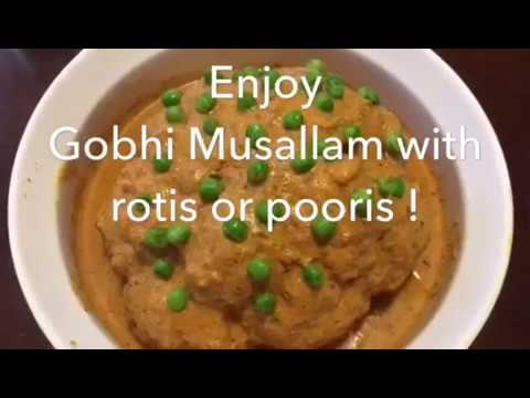 Gobi Musallam Recipe