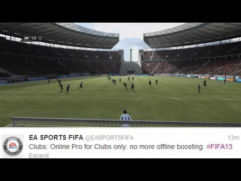FIFA 13 Pro Clubs Information! No hacking, New Accomplishments and Attributes!