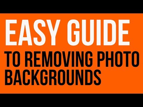 Easy way to remove photo backgrounds