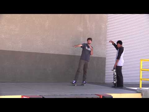 TODAY GABE LEARNED TRE DOUBLE FLIPS