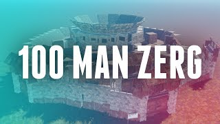 The Rise and Fall of the 100 Man Zerg   The Story of the Chad Clan   Rust Gameplay