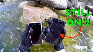 Found Working iPhone 7 PLUS, iPhone 6s, Wallet, Sunglasses and More in the River!!! (River Treasure)