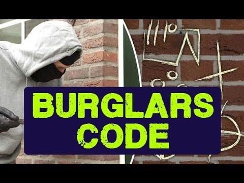 Burglar Code: Has Your Home Been Targeted