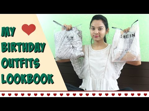 BIRTHDAY OUTFITs LOOKBOOK 2018 | BEST YOU CAN GET FROM SHEIN | Miss Priya TV |
