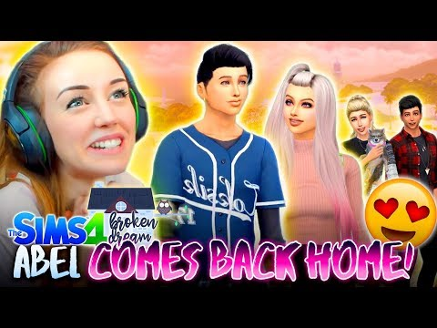 ABEL COMES BACK HOME!!! 🙌 (The Sims 4 - BROKEN DREAM #13! 🏚)