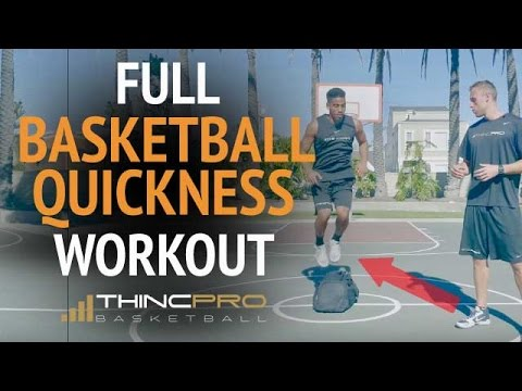 Quickness, Explosiveness, First Step Speed Drills for Basketball (Full Basketball Workout!)