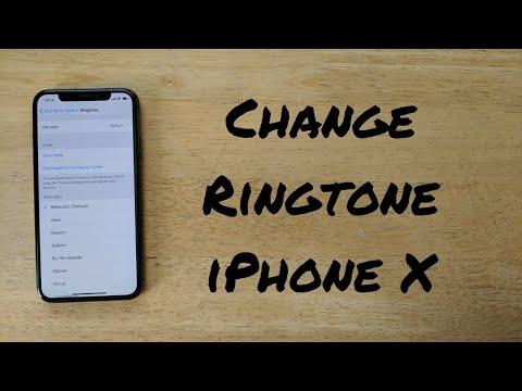 How to change ringtone iPhone X (10)