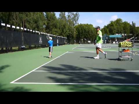Rick Macci Backhand Lesson