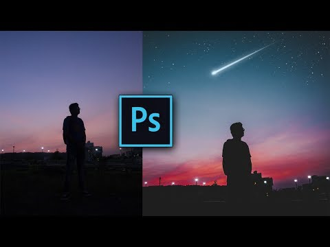 EASIEST WAY TO ADD STARS IN PHOTOSHOP