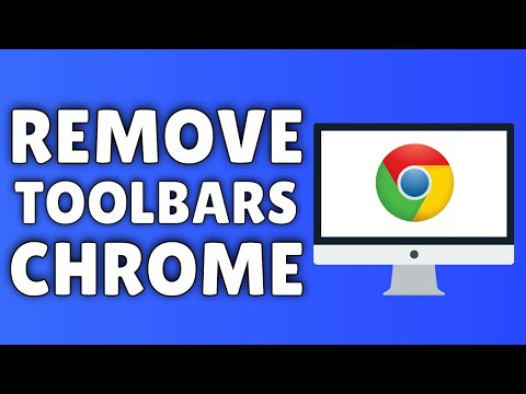 How To Remove Toolbars From Google Chrome | Delete ALL Toolbars From Google Chrome