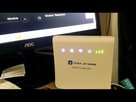 Speed test the Globe Prepaid Home Wifi - How Fast is the Internet Speed