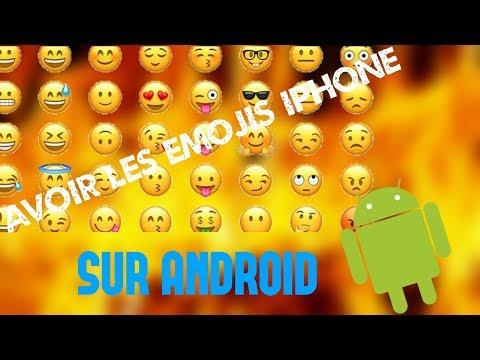 COMMENT FAIRE POUR AVOIR LES EMOJIS IPHONE SOUS ANDROID [ NO ROOT ] ?