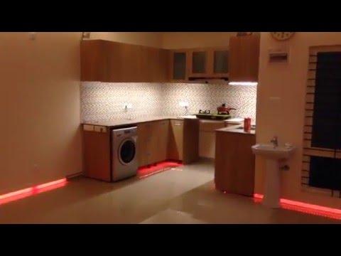 LED FLOOR/SKIRTING RGBW LIGHTING