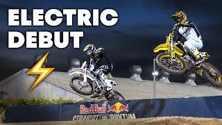 Electric MX Bike Makes Professional Debut at Red Bull Straight Rhythm | Moto Spy Supercross