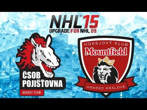Czech Let's play NHL 09 (EHA NHL 15) - HC ČSOB Pojišťovna Pardubice vs. Mountfield HK (PC)