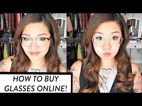 My Newest Glasses from firmoo.com + How to Buy Glasses Online | HelloHannahCho