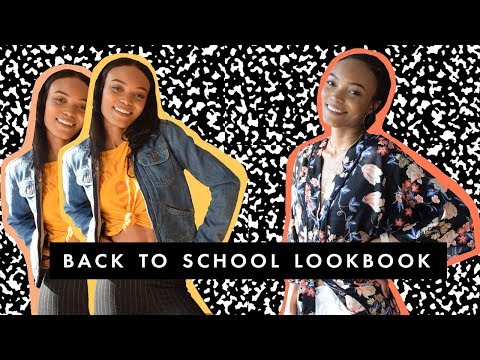 Back to School College Lookbook - Monday to Friday Outfits! | Alicia Fuller