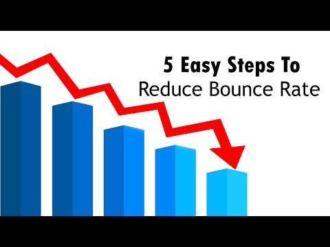 How To Reduce/Decrease Google Analytics Bounce Rate of Your Website