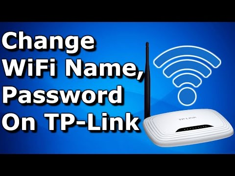Change WIFI Name (SSID) and Password on TP-Link Router ✔