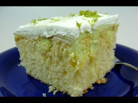 Eggless Lime Cake Recipe Video - Make Eggless Lemon or Orange Cake with same method!