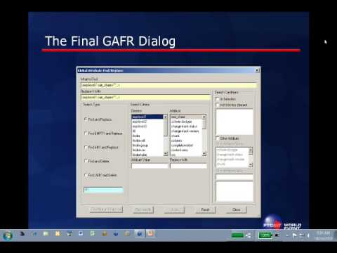 An ACL Tool to Find and Replace XML Attribute Values [SFBay Arbortext PTC User Meeting]