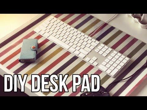 DIY Custom Desk Pad (Quick & Easy)