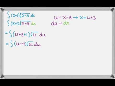 Integrals by u-substitution