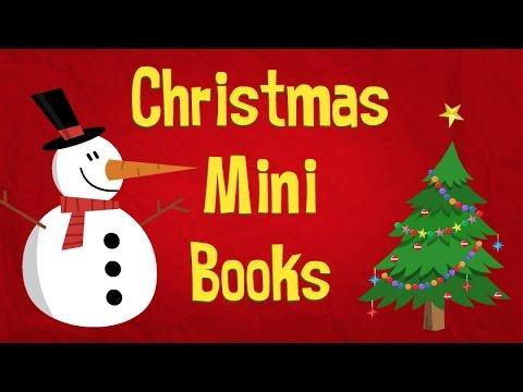 Santas Hat and Santa's Beard Christmas Mini Books - Easy ESL Games