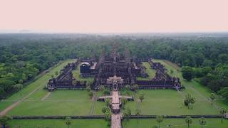 Angkor Wat From the Air