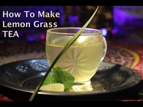 How to make fresh LEMONGRASS TEA for Detox and Weight Loss