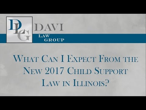 What Can I Expect From the New 2017 Child Support Law in Illinois?