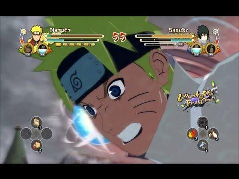 (XBOX 360) Hokage Naruto vs EMS Sasuke Naruto Ultimate Ninja Storm 3