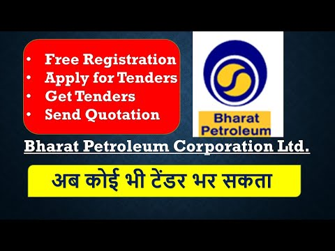 Earn Money Online & Work with Government Company BPCL Tenders