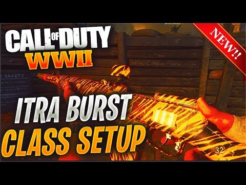 EPIC ITRA BURST IS A BEAST 💯 BEST EPIC ITRA BURST CLASS & GAMEPLAY ON COD WW2 (NEW DLC WEAPON)