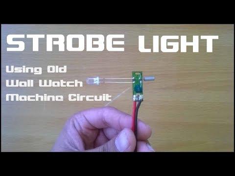 How To Make Strobe light