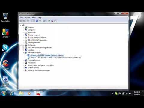 Make Wireless Card faster in Windows 7