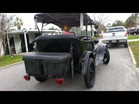 1927 Model T Ford with s10 V6 engine and transmission. Conversion