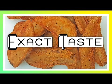 How To Make Fried Potato Wedges ~ KFC Recipe