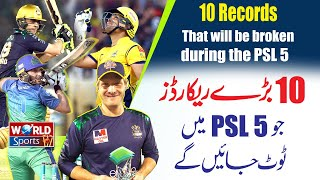 10 Records that will be broken during the PSL 5   PSL 2020   Most T20 Sixes