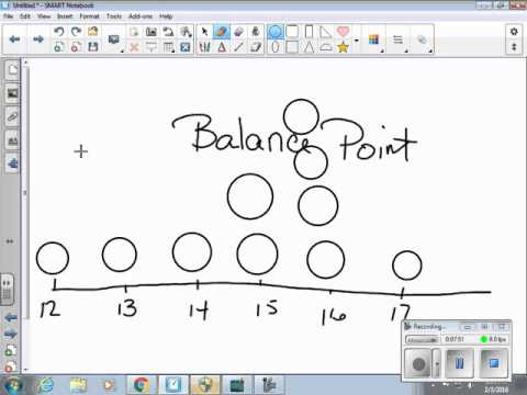 outlier and balance point