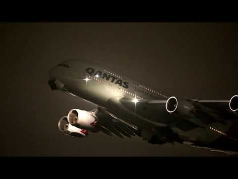 London Heathrow Plane Spotting - Night Departures @ Terminal 5 Part 2