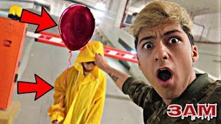 DO NOT TAKE OFF GEORGIE HOOD FROM IT MOVIE AT 3AM!! *OMG UNMASKING GEORGIE HIS REAL FACE*