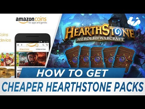 How to Get Cheap Hearthstone Packs [Amazon Coins]
