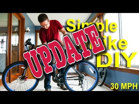 UPDATE - How to make an electric bike for under $500! Fast & Cheap eBike tutorial!