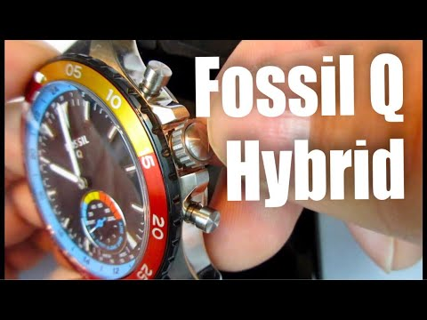 Functionality review of the Fossil Q Crewmaster Gen 2 hybrid smartwatch
