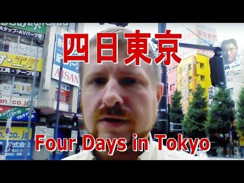 Four days in Tokyo, Japan Travel VLOG