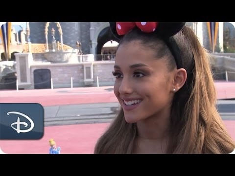 Ariana Grande Celebrates Her 21st Birthday   Walt Disney World